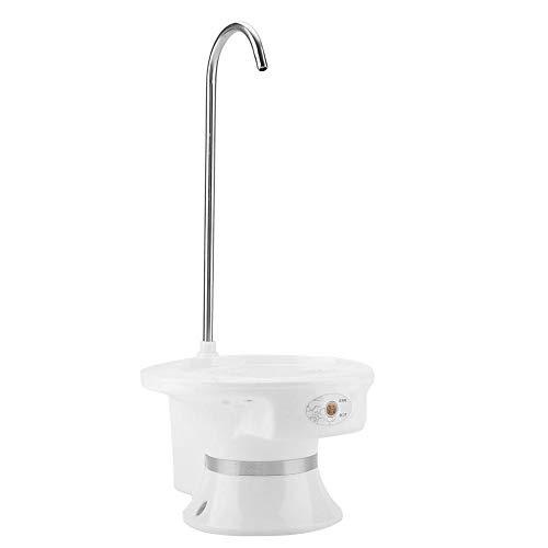 Fdit Socialme-EU Dispensador Bomba de Agua Electrica para Agua Embotellada Portable 5 Galón Dispensadora de Agua Portátil (Negro)