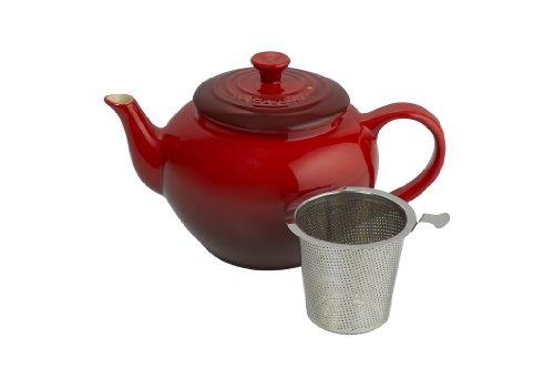 LE CREUSET 91010038061400 Teekanne mit Teesieb aus Edelstahl, 1l