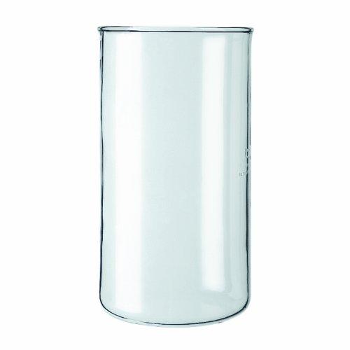 Bodum Spare Beaker Ersatzglas ohne Ausguss für Kaffeebereiter, 3 Tassen, 0.35l, Transparent, 01-11080-10