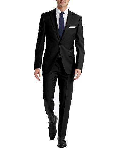 Calvin Klein Black Slim Fit Suit