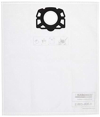 KARCHER sacche filtro di ricambio per WD4, WD5, WD5 P Wet & Dry aspirapolvere