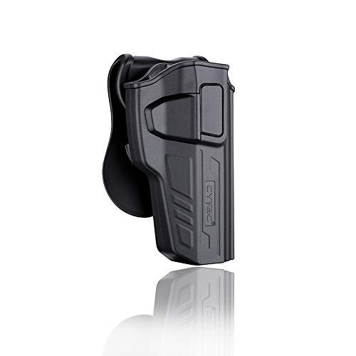 CY-T92G3 - Fondina tattica per pistola di sicurezza CYTAC Level II | Compatibile con Beretta 92 / 92 FS | GIRSAN Regard MC | Serie R-Defender G3
