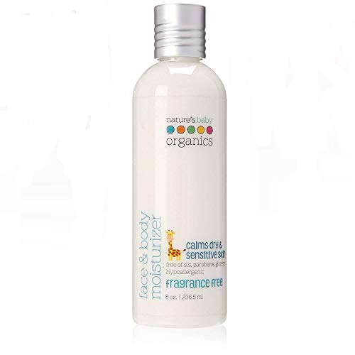 NATURE'S BABY - Face Body Moisturizer Fragrance Free - 8 oz. (236.5 ml)