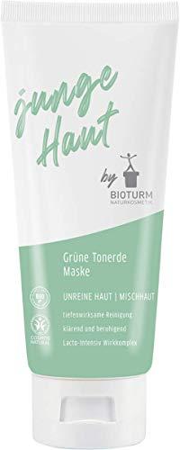 Bioturm Naturkosmetik Grüne Tonerde Maske junge Haut 100 ml