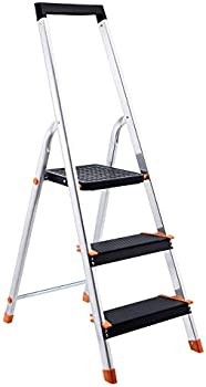 AmazonBasics 3-Step Folding Step Ladder