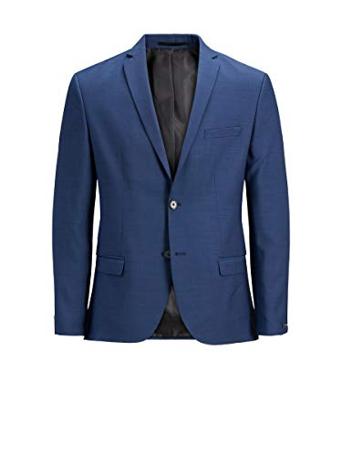 JACK & JONES Male Blazer Klassischer 46Medieval Blue