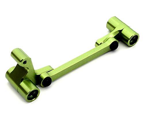 Integy RC Model Hop-ups T8682GREEN Billet Machined Steering Bell Crank for HPI WR8, Bullet MT & Bullet ST