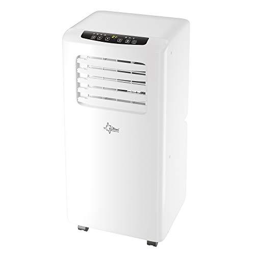 SUNTEC condizionatore mobile locale IMPULS 2.6 Eco R290 [3 in 1: per ambienti fino a 80 m³ (~34 m²)*, raffreddamento, deumidificazione, ventilazione con refrigerante ecologico R290, 9.000 BTU/h]