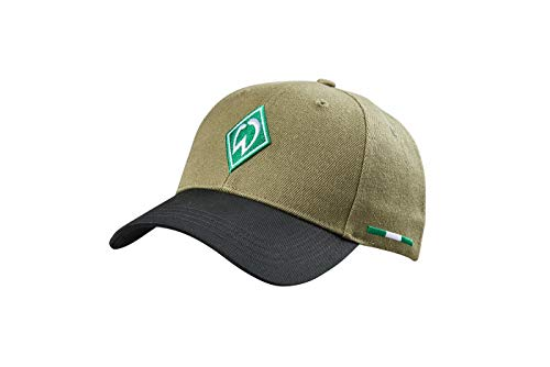 SV Werder Bremen Cap, Basecap Raute Olive Melange
