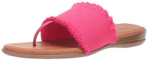 Andre Assous Women's Nanette Flip-Flop Fuchsia 9 M US