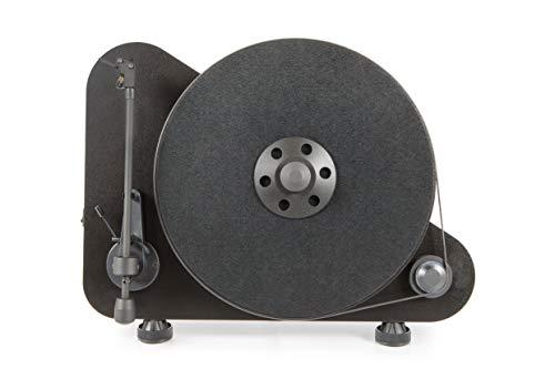 Pro-Ject VTE draaitafel, verticaal, links, zwart