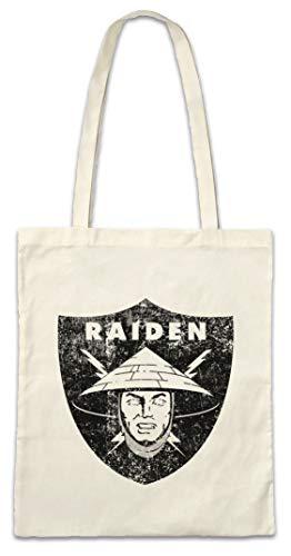 Urban Backwoods Oakland Raiden Logo Bolsas de la Compra Reutilizables - Los Angeles Mortal NFL MK Raiders Kombat