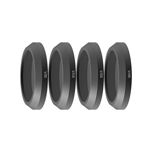 Freewell Bright Day-camera lens filter set 4 stuks ND8/PL, ND16/PL, ND32/PL, ND64/PL compatibel met Parrot Anafi Drone
