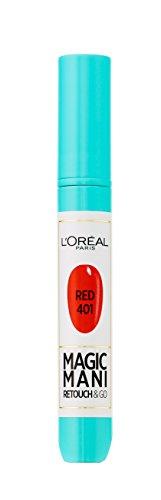 L'Oréal Paris Magic Mani Vernis à Ongles Retouche en Feutre 401 Red 4 ml