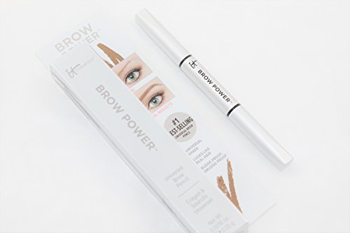 It Cosmetics Brow Power Universal Brow Pencil .0018 Ounce Universal Taupe Travel Size