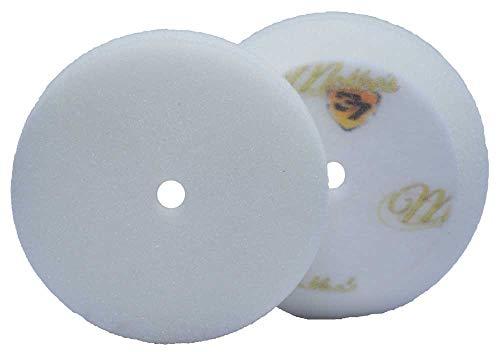 McKee's 37 MK37-62375-1610 Redline White All-in-One Foam Polishing Pad (3.75 Inch)