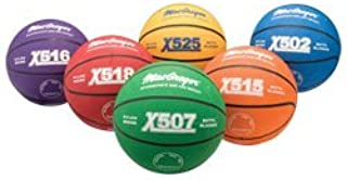 MacGregor Multicolor Basketballs (Set of 6) - Intermediate Size (28.5