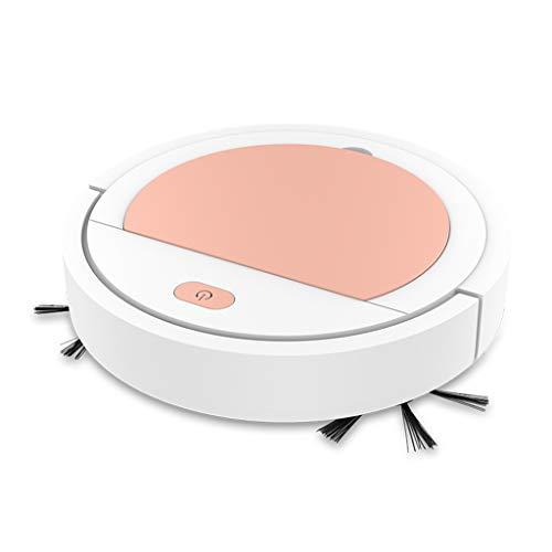 Robot Aspirador, fuerte succión automática Bot auto detecta escaleras, pelo de mascotas, apto para alérgicos, limpieza robótica del hogar