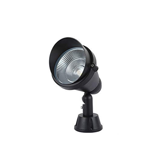 KMYX 5W Proyector LED Luces 180 ° Proyector Giratorio Proyector IP65 Luces de Paisaje para Exteriores a Prueba de Agua para pastizales Planta comunitaria Jardín
