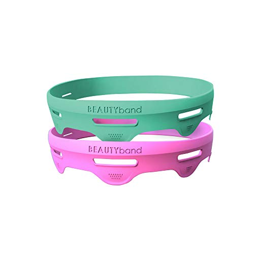 The Original BEAUTYband Enhance – 2 Pack – At Home Anti-Aging Facial Toning Device for Sagging Skin, Fine Lines, Wrinkles, Irritation – Naturally Rejuvenate Your Skin in just 15 minutes a day