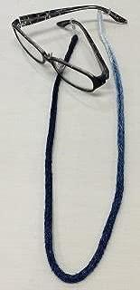 藍染メガネチェーン(シルクレーヨン)