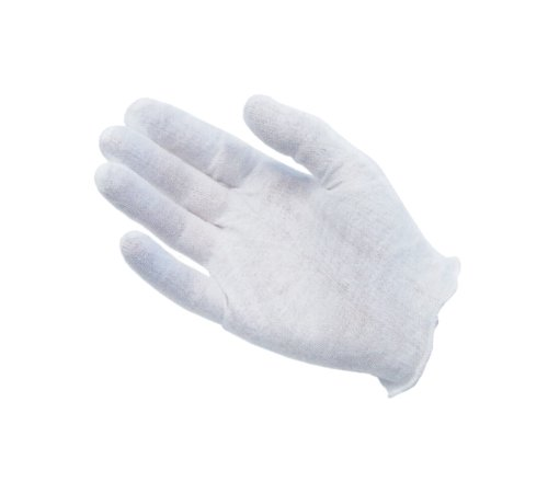 Protective Industrial 97-520 Cotton Lisle Medium Weight Men's Glove Liner, 9