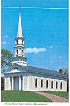 Martha-Mary Chapel Sudbury, Massachusetts Postcard