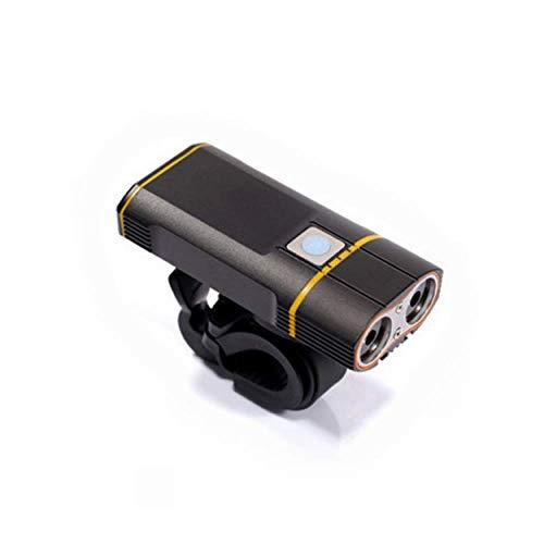 Wiederaufladbares USB-Fahrradlicht, StVZO Zugelassen, 900 Lumen LED-Fahrradscheinwerfer, Mountainbike-Beleuchtung IP65 Wasserdicht, 5 Arten Der Zirkulation, Nachtfahrlicht Mit 85 ° Flutlicht