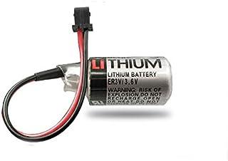 FCQLR Compatible for ER3V/3.6V PLC Battery JZSP-BA01 Yaskawa servo Lithium Battery 1/2AA Battery