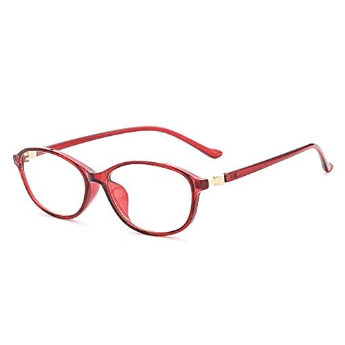 老眼鏡 おしゃれ レディース ブルーライトカット 軽量 人気 女性 ブランド 軽い リーディンググラス シニアグラス 8212 (ワインレッド, 1.00)