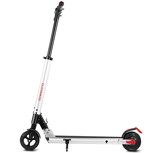 Speedrid Electric Scooter, Commuting Electric Scooter for Adults/Teen, Foldable Electric Scooter, 250W Motor 15.5MPH & 8 Mile Range E Scooter(ModelX1) (Cool Silver)