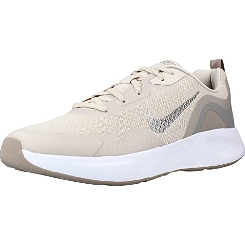 Nike Wearallday, Zapatillas Unisex Adulto, Desert Sand Mtlc Pewter Malt, 47 EU