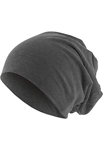 Masterdis Jersey Beanie, Farbe:heather charcoal