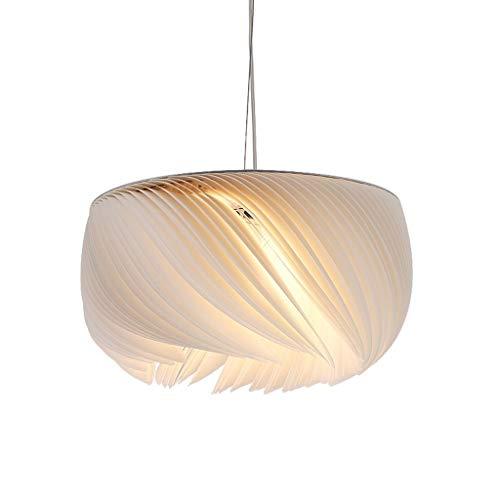 Lámparas De Araña Galería de Arte Luces de Papel Acrílico Dormitorio nórdico Luces de Origami Hotel Club E27 Lámpara de Papel Sistemas De Iluminación (tamaño : 45cm)