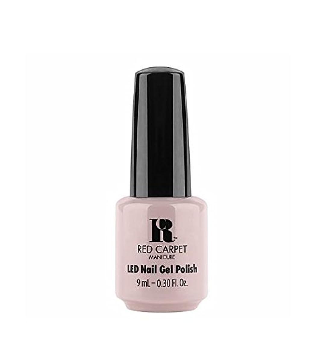 プラットフォームワーカー妥協Red Carpet Manicure LED Gel Polish - Cozy In the New Chic - 9 ml/0.30 oz