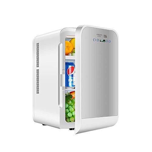 ZZXXRR 20L Tabletop Mini Kühlschrank Auto Kühlschrank DualCore Digitalanzeige Temperatureinstellung Auto Home Dual Use Einzeltür Ultra Leise Geräuscharm Elektronischer Kühler und Wärmer
