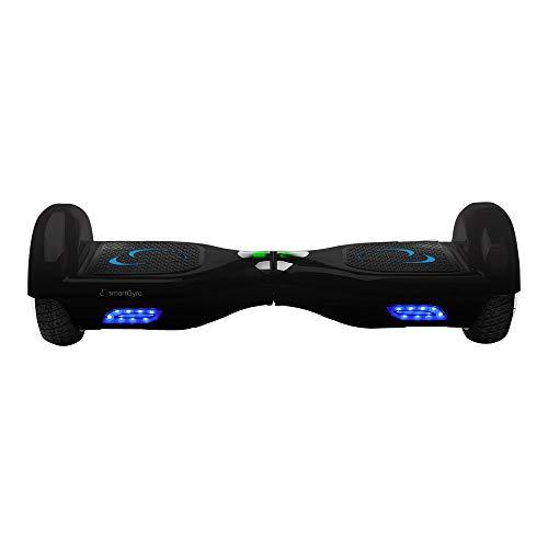 SMARTGYRO X1s Hoverboard eléctrico, Unisex Adulto, Negro, Talla única