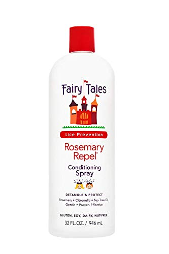 Fairy Tales Rosemary Repel Lice Shampoo - Daily Kids Shampoo (12 Fl Oz) & Conditioner (8 Fl Oz) Duo for Lice Prevention