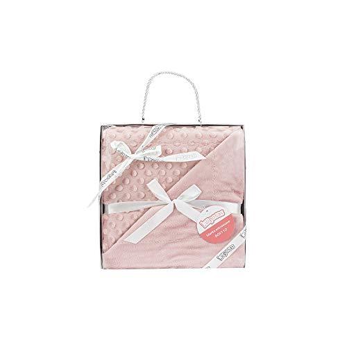 Manta para bebés, 0.80 x 1.10 m Manta para recién Nacidos Mantitas para Bebes Suave y Confortable Cálida niña y niño Mantas para Todas Las Estaciones (Rosa Maquillaje)