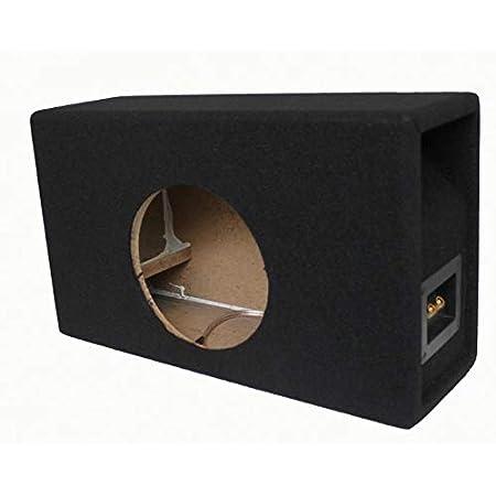 Necom Bandpass Leergehäuse Für 8 20cm Basslautsprecher Mit Bassreflex Port 0808 1air Auto