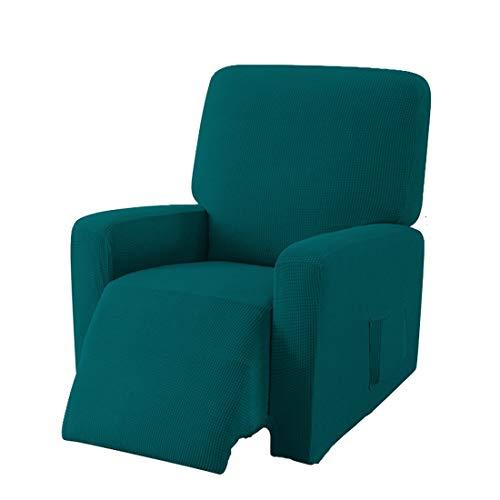 E EBETA Jacquard Funda de sillón, Capuchas elásticas para sillón, Elástico Funda para sillón reclinable (Verde Oliva)