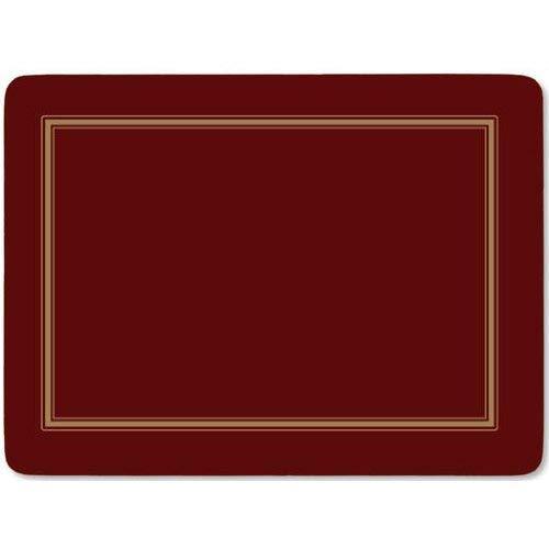 Classic Burgundy Tischunterlage 4 Stück (s)