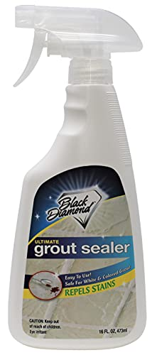 Black Diamond Stoneworks Ultimate Grout Sealer: Seals Out Stains Use On all...