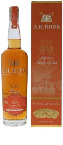 A.H. Riise A.H. Riise X.O. Reserve Super Premium Single Barrel Rum 40% Vol. 0,7L In Giftbox - 700 ml