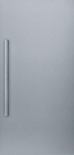 Bosch KFZ40SX0 Zubehör für Kühlschränke / Edelstahl Türfront / mit Metallgriff für Dekortüre KFZ40AX0