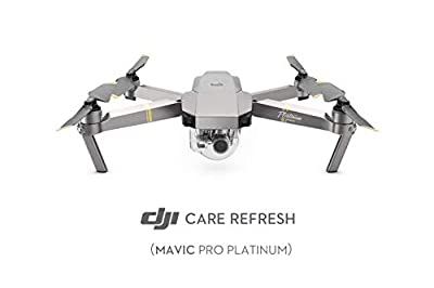 DJI Mavic Pro Platinum - Care Refresh, VIP service plan for Mavic Pro Platinum, Up to Two Replacement within 12 Months, Fast Support, Crash and Water Damage Coverage, , Activated within 48 Hours