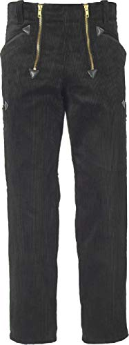 JOB Zunfthose aus Trenkercord gerade Form, Farbe schwarz, Größe 52