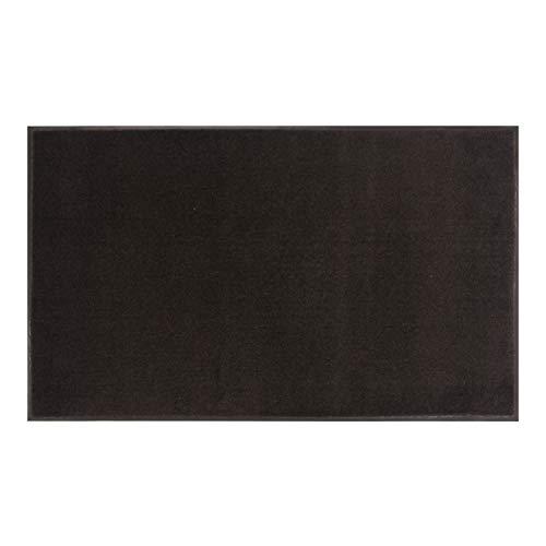 Amazon Basics Cut-Pile Polypropylene Commercial Carpet Vinyl-Backed Mat 4x8 Smoke
