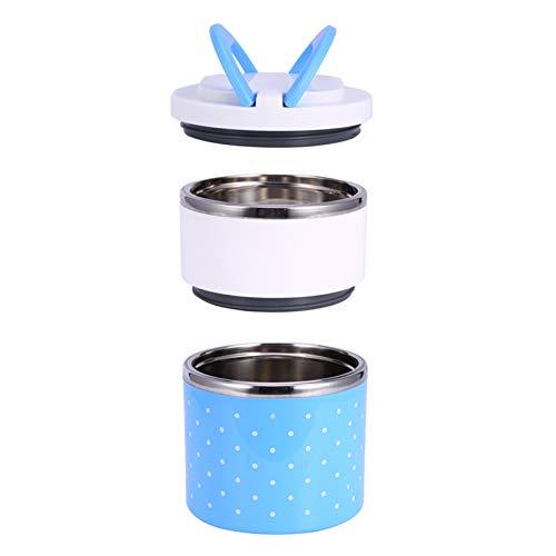Fiambrera Bento, 3 capas de acero inoxidable, contenedores de almacenamiento de alimentos a prueba de fugas, contenedor de almacenamiento de alimentos, bolsa de almuerzo aislada para