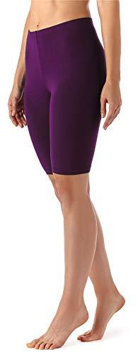Merry Style Leggins Cortos Mallas Deportivas Mujer MS10-145 (Ciruela, M)